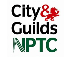 logo of city and guilds NPTC